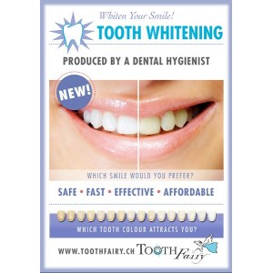 Poster - LED-Tooth Whitening