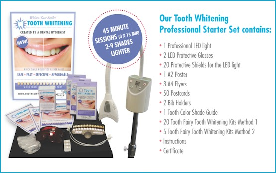 Tooth Whitening Starter Set Tooth Fairy Gmbh Style Your Smile